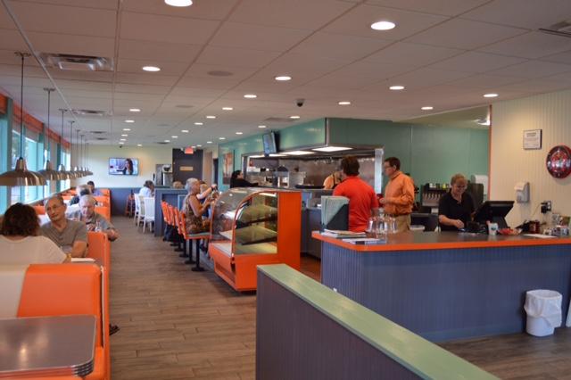 Sweeties Diner Interior