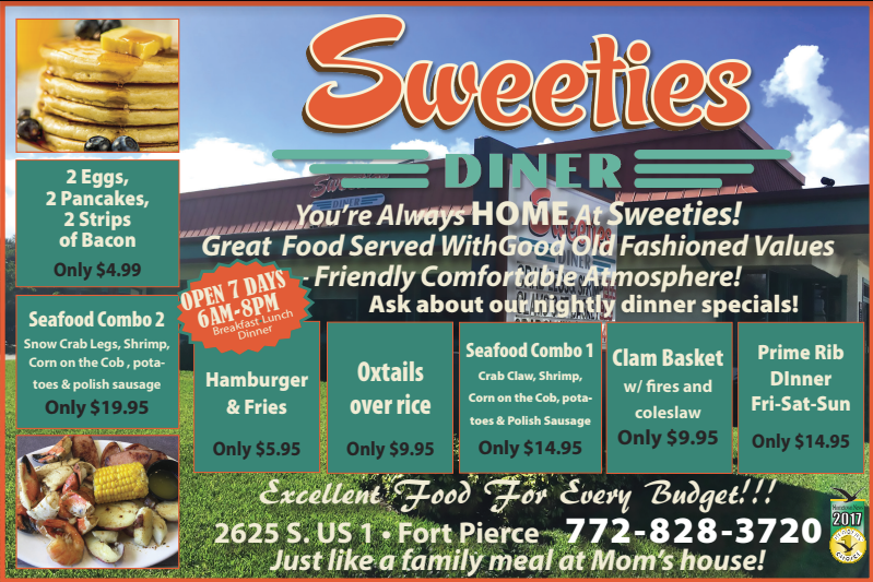 Sweeties Diner in Fort Pierce